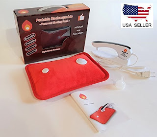 5.Best Rechargeable Heating Pad: Rechargeable Portable Heat Pad