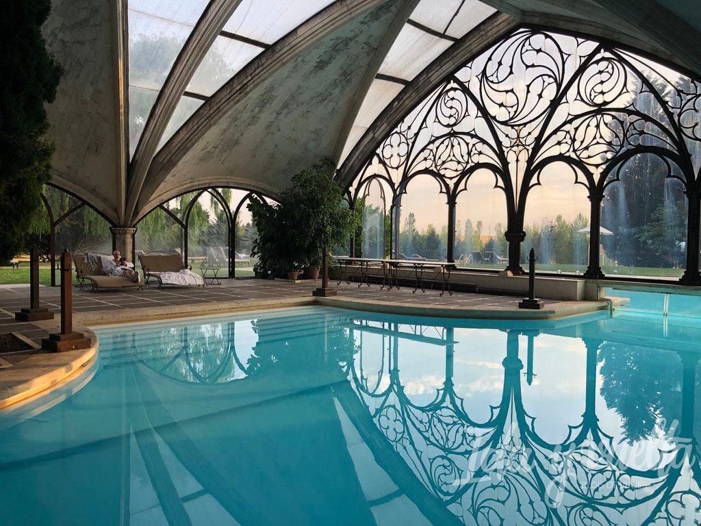Hotel Landa Burgos piscina