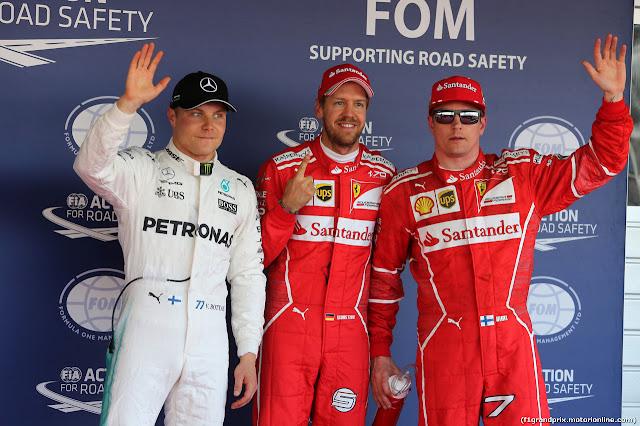 F1, Gp Russia: trionfa Bottas davanti a Vettel e Raikkonen