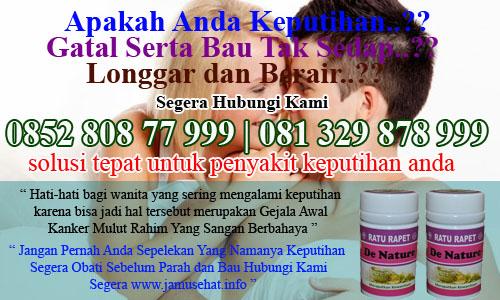 obat untuk keputihan dan bau tidak sedap