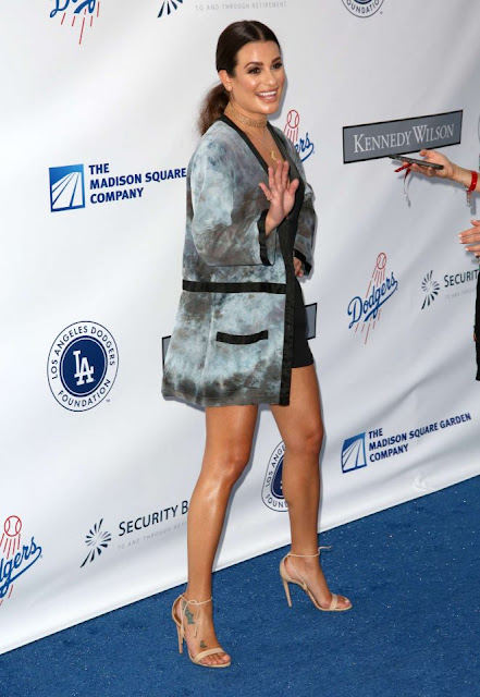 Lea Michele – LA Dodgers Foundation Blue Diamond Gala