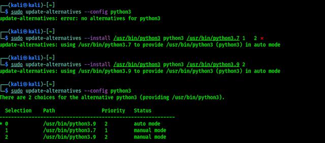 python3 alternatives