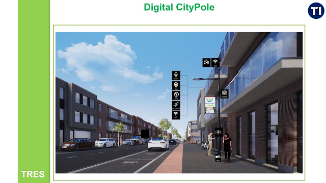 5G connectivity and IoT intelligence for Leuven Digital City Pole project