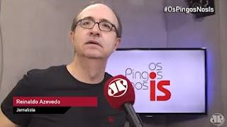 Reinaldo Azevedo: quem denuncia sacanagem está cumprindo papel de cidadão