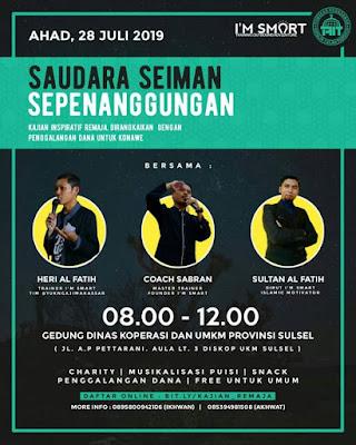 Coach Sabran, Motivator Makassar, Trainer, Coach