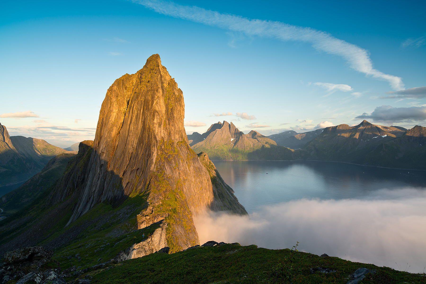 Гора Сегла в Норвегии
