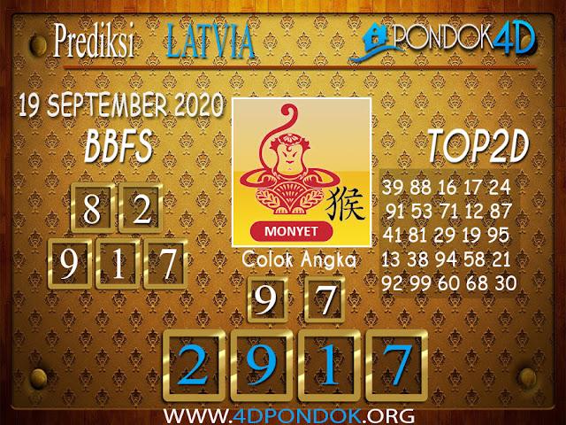 Prediksi Togel LATVIA PONDOK4D 19 SEPTEMBER 2020