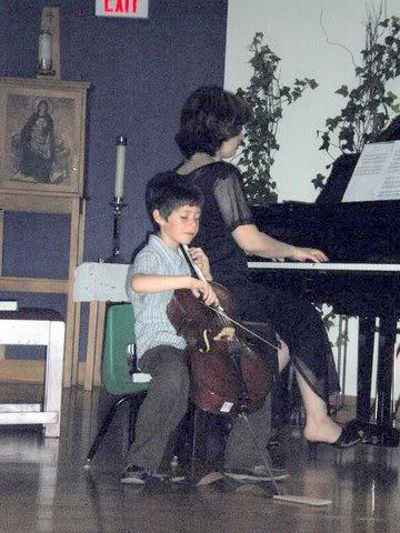Young Cello Master