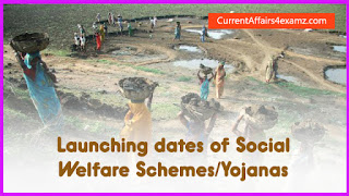 Social Welfare Schemes for PSC Exams