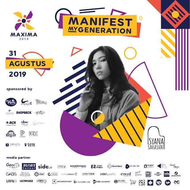 Universitas Multimedia Nusantara - Maxima 2019