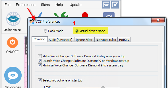 Change voice in Steam Game Portal with Voice Changer Software Diamond