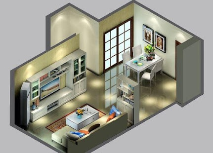 unnamed 35 Sky View 4D American House Plan Styles Interior