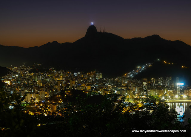 night view in Sugarloaf Rio de Janeiro