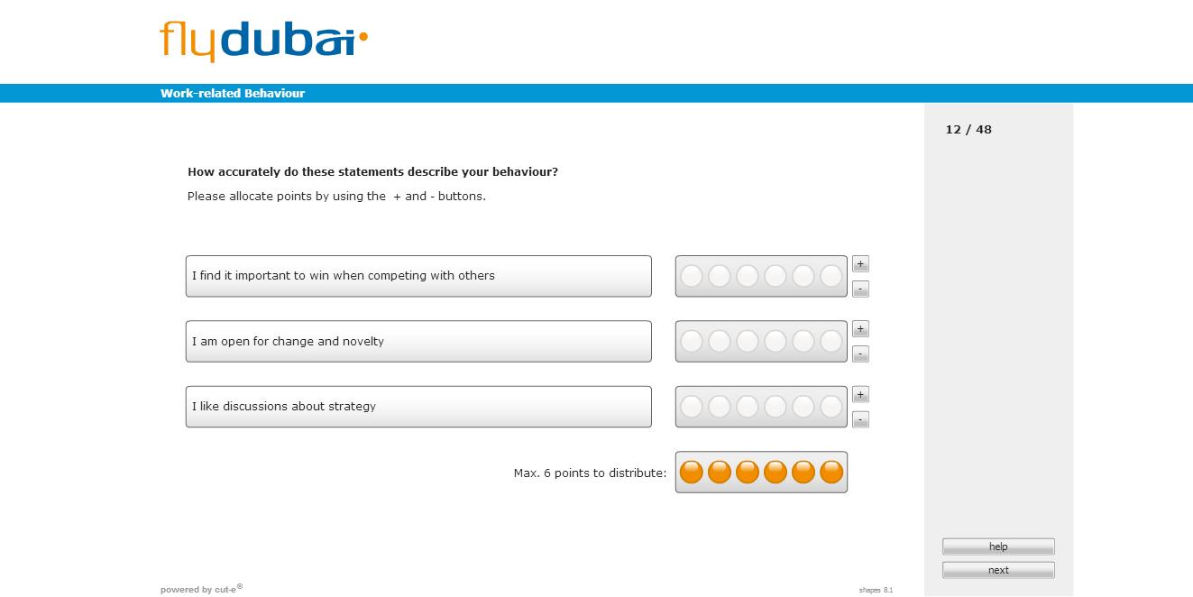 That is fine.: Sample fly dubai Online Assessment Test