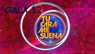 Gala 12 en Tu cara me suena con Soraya y Edu Soto