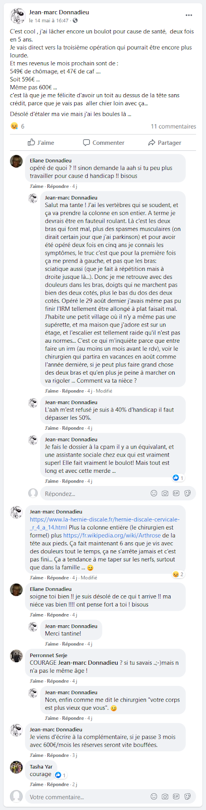 Jean-marc%2BDonnadieu%2Bmalade%2B-%2BFacebook%2B-%2Bwww.facebook.com dans Luraghi