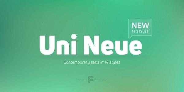 Download Font Edisi Februari 2017 - Uni Neue Free Demo