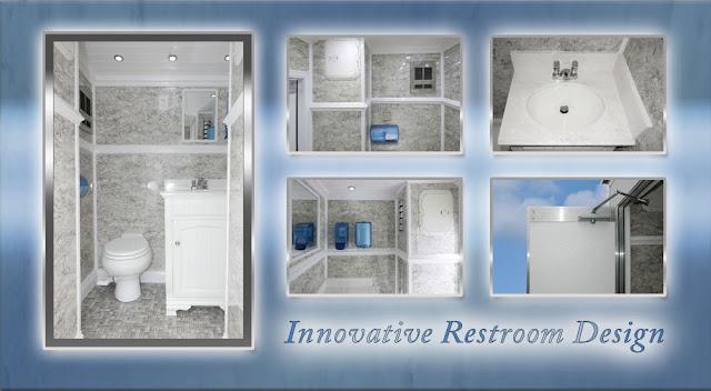 Inside the HeadRest Portable Toilet