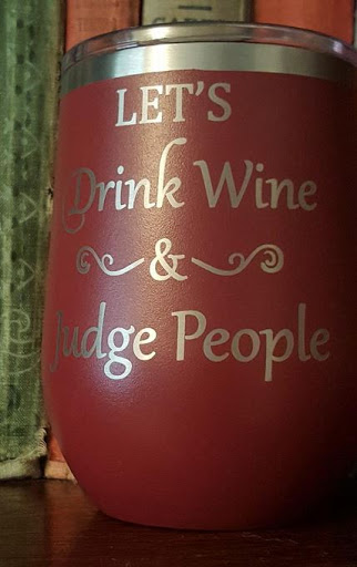 """Over the yard arm, """"cold drugs,"""" aka wine..."""