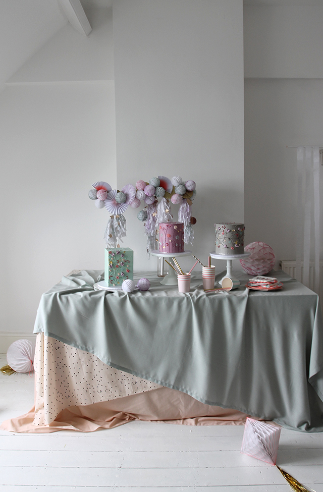 Inspired Spring Celebration Table with Alice and Rosa