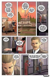 Primeras páginas del cómic Miskatonic de AfterShock