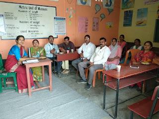 करंजाकला के सभी विद्यालयों को प्रेरक विद्यालय बनाने के लिए शिक्षक संकुल ने की बैठक | #NayaSaberaNetwork