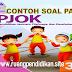 Soal Dan Kunci Jawaban PAT/UKK PJOK Kelas 3 SD/MI Semester 2 Kurikulum 2013