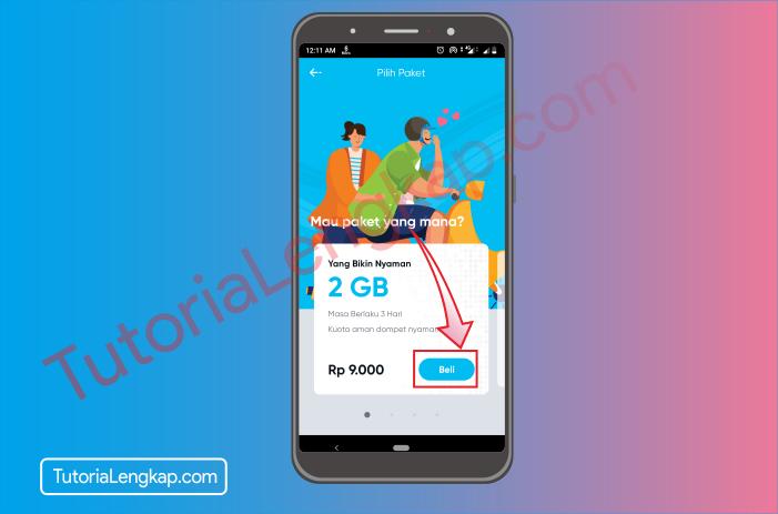 tutorialengkap 4 Cara Membuat Akun By.U untuk memesan SIM Card Secara Online