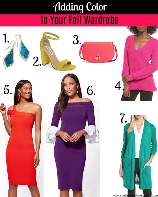How to Wear Color in Fall
