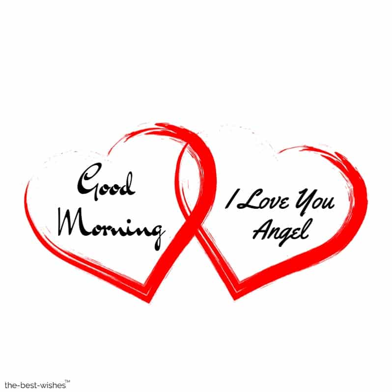 good morning angel love images