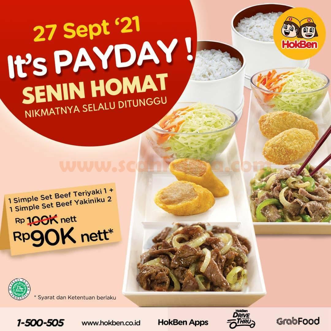 Promo Hokben Payday Terbaru 27 September 2021 SENIN HOMAT