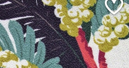 Florida Bungalow on Etsy.com Has The Most Amazing Colorful 1950s Abstract and Floral Barkcloth Fabrics
