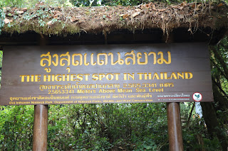 The Summit- Highest Point in Thailand