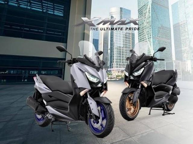 Yamaha Hadirkan Warna Baru Matte Grey pada XMAX 250