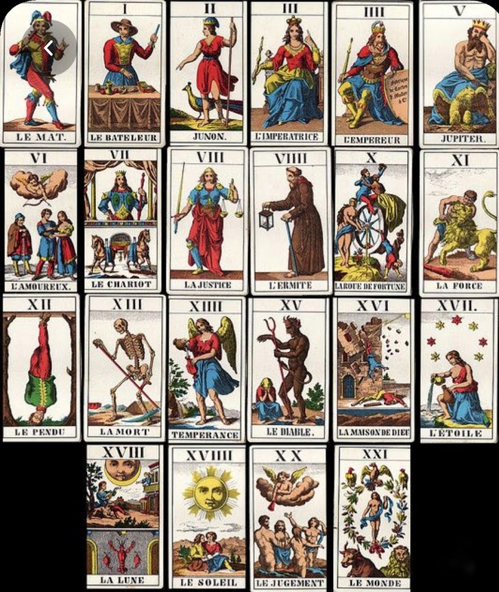 гадальные карты для кукол