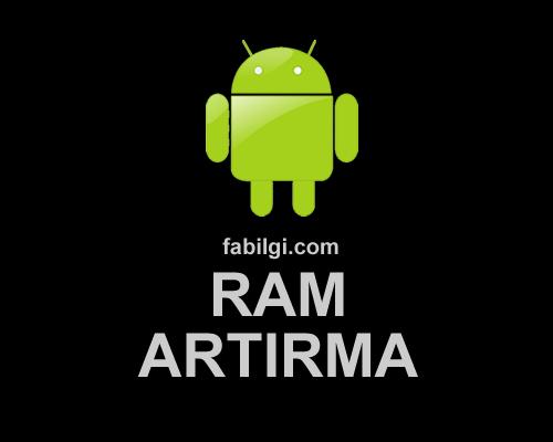 Telefon RAM Artırma Hızlandırma Uygulaması Swapper & Tools
