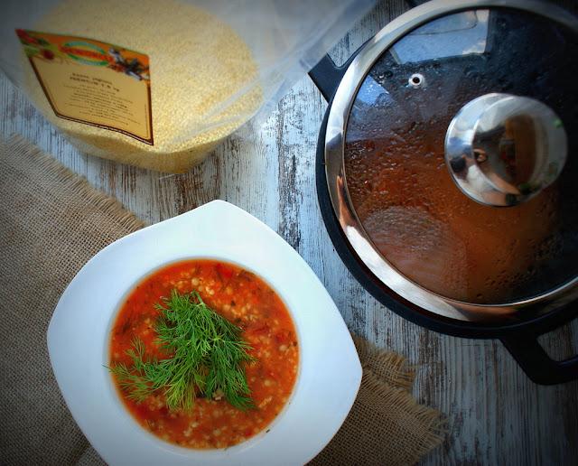 magda gessler, magda gessler garnki,zupa pomidorowa,pomidory,koperek,zupy,zdrowe odzywianie,