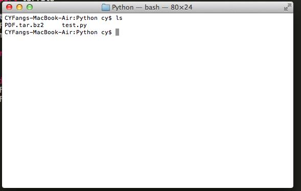 Follow Fang!: Python 3 3 透過Tarfile解壓縮