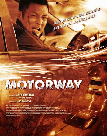 Poster Of Motorway In Dual Audio Hindi Chinese 300MB Compressed Small Size Pc Movie Free Download Only At worldfree4u.com