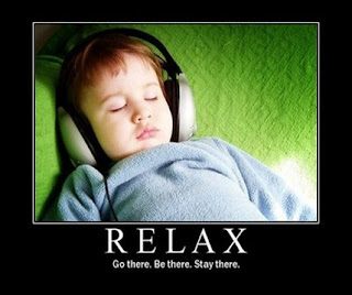 Relaxing music is child's play