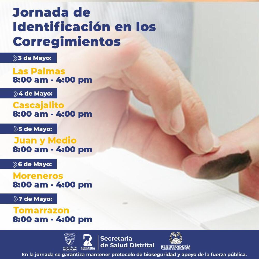 hoyennoticia.com, Alcaldía de Riohacha y Registraduría iniciarán jornada de Identificación
