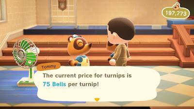 Selling Turnips