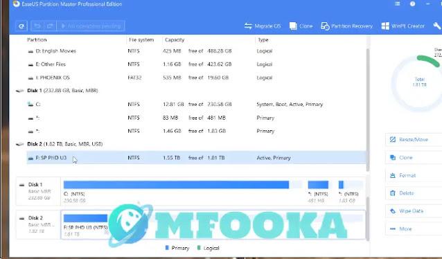 برنامج فورمات كارت ميموري 8 جيجا