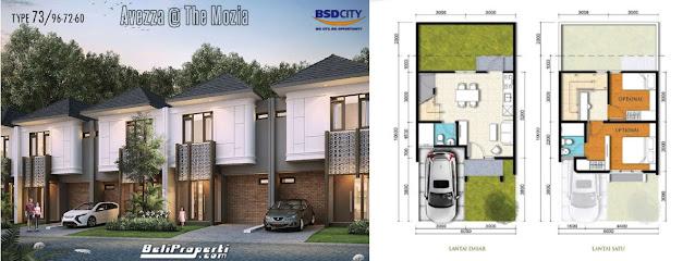 layout l6 avezza the mozia bsd city