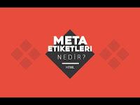 Meta Etiket Fotoğrafı