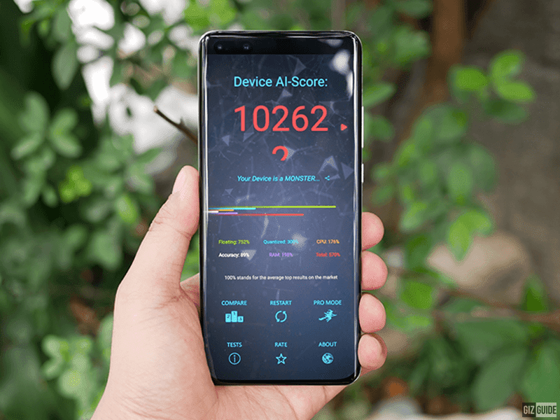 Huawei P40 AI Benchmark score destroys the competition