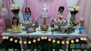 Decoração Princesas Disney Porto Alegre