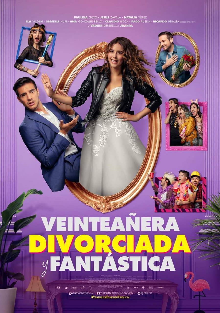 Veinteañera, divorciada y fantástica [2020] [CUSTOM HD] [DVDR] [NTSC] [Latino]