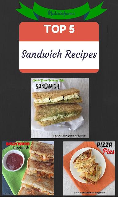 popular sandwich recipes