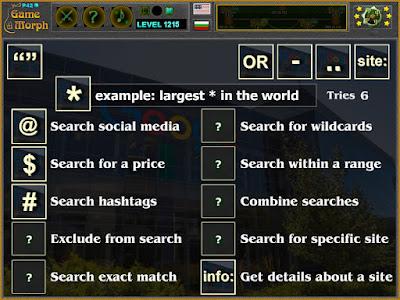 Web Search Symbols